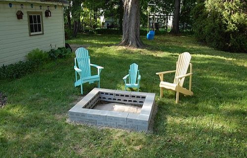 Cinder Block Fire Pit - Cost Effective Alternative