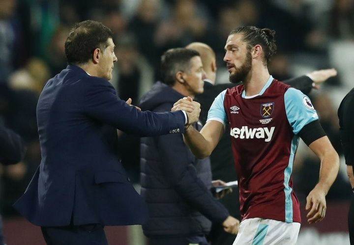 West Ham chairman David Gold has talked of his joy at seeing Andy Carroll return to fitness after three months  Source