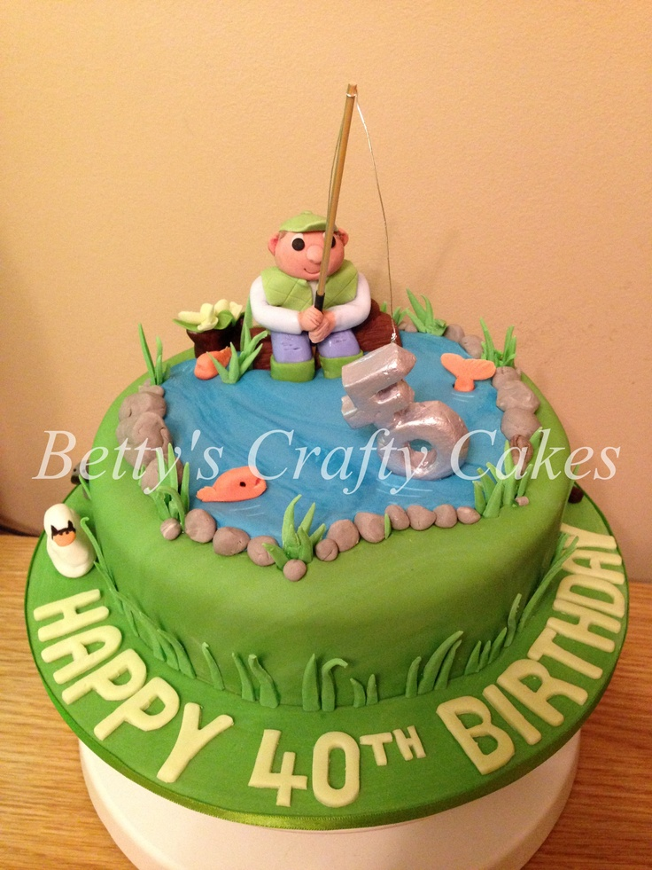 104 Best 40th Birthday Cakes Images On Pinterest