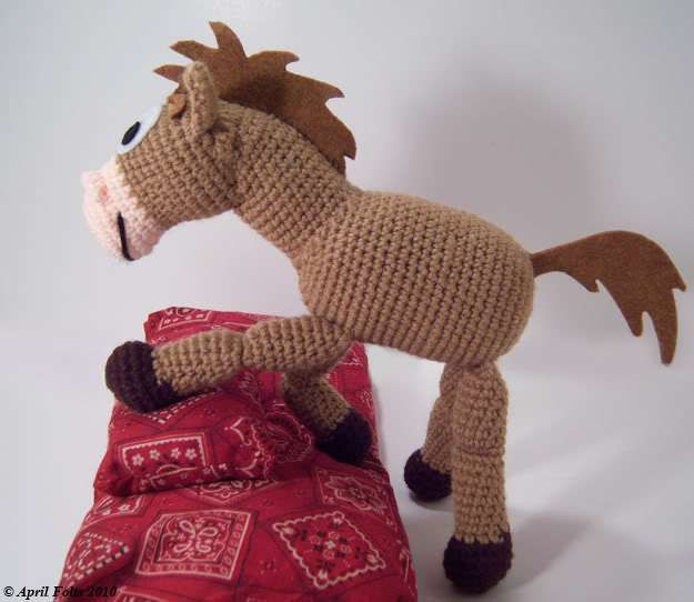 Free Crochet Pattern for Bullseye from Toy Story + 9 more free Disney patterns