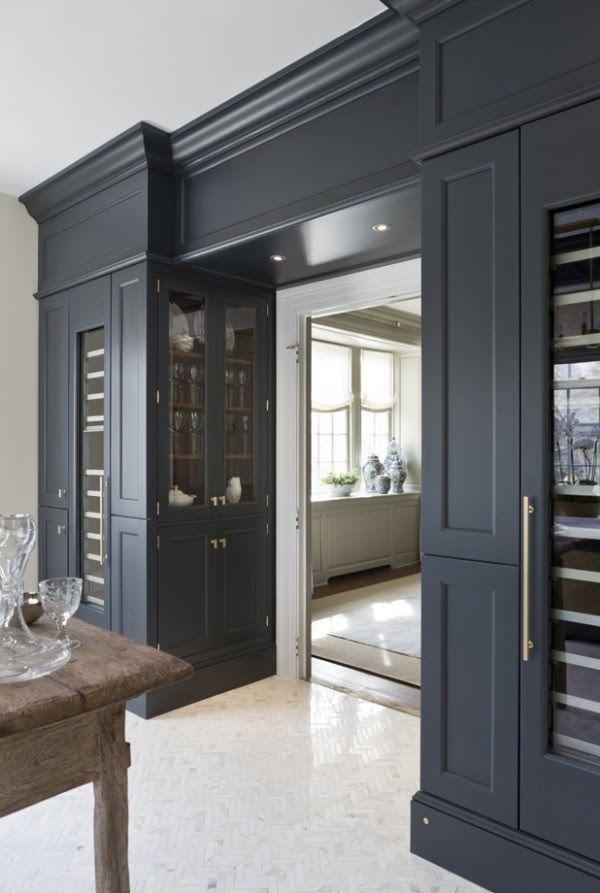 Black in the kitchen. Thermador refrigeration columns. HB magazine.