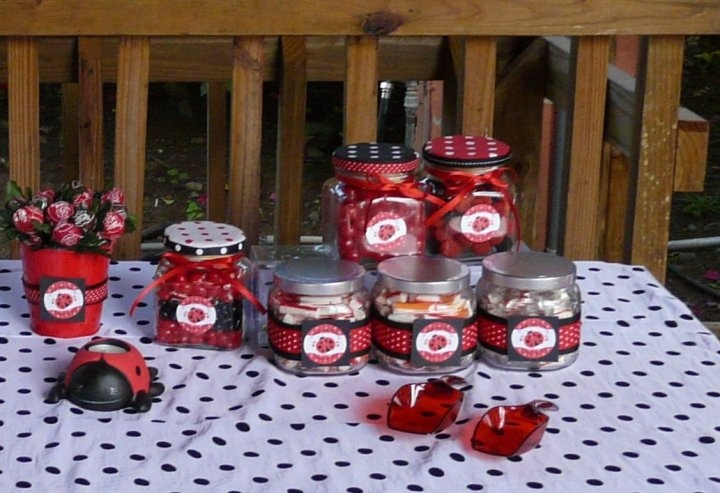 Modern Ladybug   Baby Shower Theme Ideas Http://www.bigdotofhappiness.com