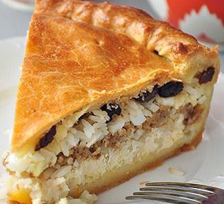 Татарский праздничный пирог Губадия