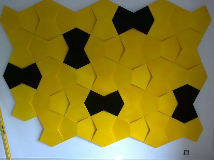 Kolekcja Fluffo NEXUS. Miękkie panele ścienne 3D Fluffo. Fluffo, Fabryka Miękkich Ścian. Projekt by: osoba prywatna.