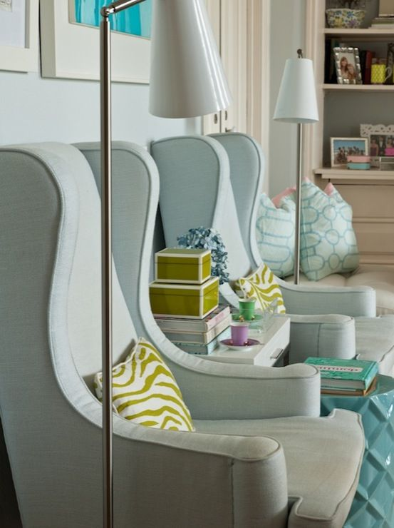 Living Room, Accent Chair, Interiors, Wingback Chair  Decorating Ideas For Our Home
