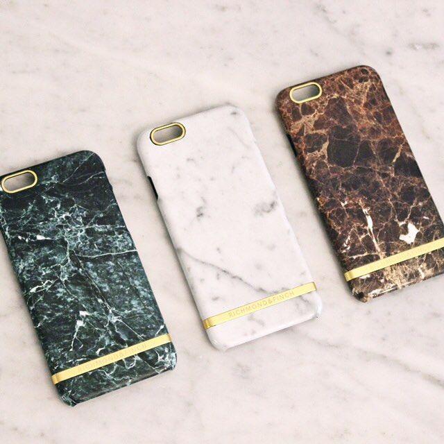 Nyheter från Richmond & Finch, marmormönstrade iPhonefodral.