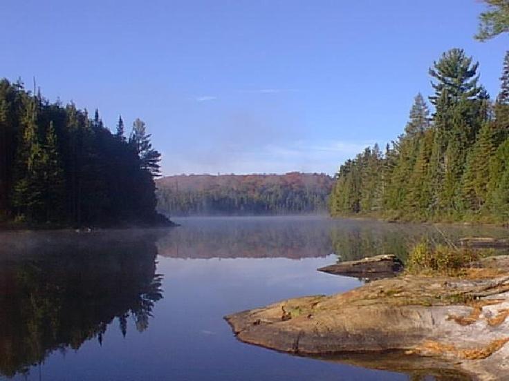 Rain Lake in Algonquin Park