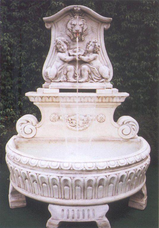 Fontana S.REMO 2 in cemento cm 147x94x187H - arredogiardini.it