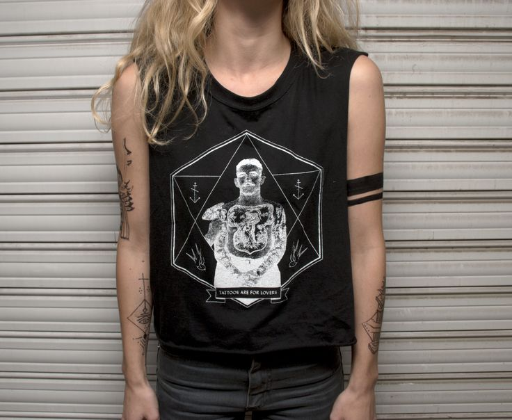"""""""Tattoos are for lovers"""" women t-shirt by the Jinx"""