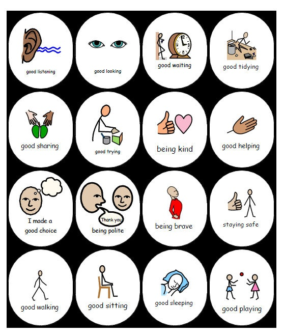 """These templates give the user ownership to make the chart and rewards as simple or complex as they need or want. It promotes positive behaviour by rewarding specific desirable behaviour. Please note you can use generic """"tokens"""" instead of targeted specific behaviour if preferred."""