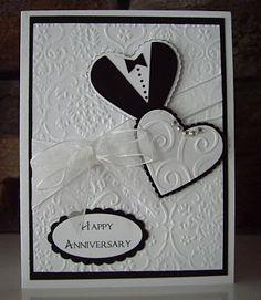 handmade anniversary card designs - Google Search