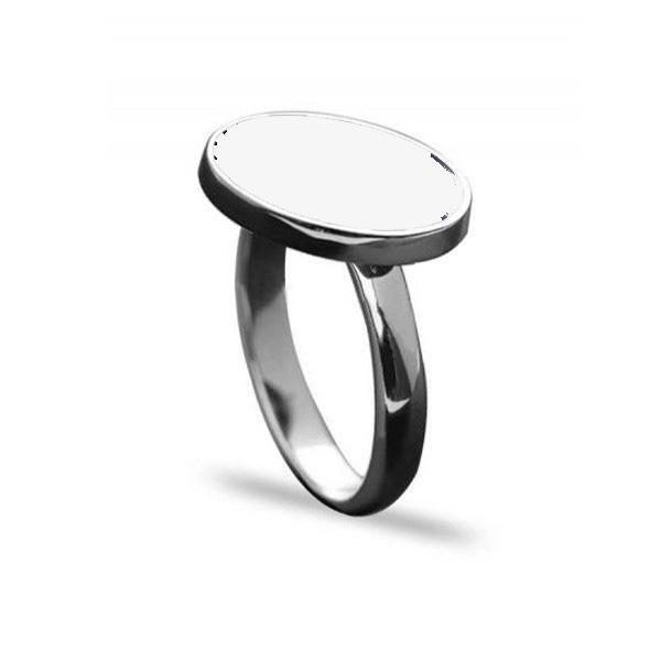 خاتم فضة ملكي ابيض بيضاوي عيار 925 Engagement Rings Rings Wedding Rings