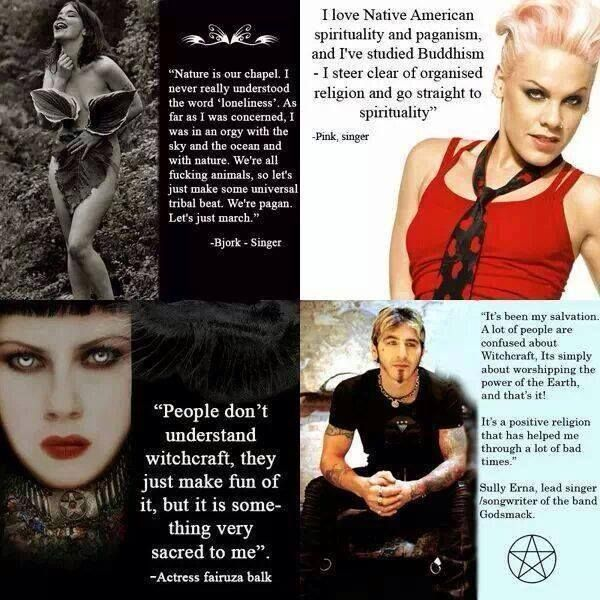 9 Celebrities Who May or May Not Be Wiccan or Pagan