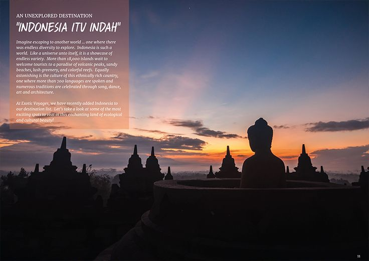Imagine escaping to another world … one where there was endless diversity to explore.  Indonesia is such a world.  Like a universe unto itself, it is a showcase of endless variety. #travelinstyle #magazine