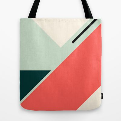 Geo coco Tote Bag by Laura Moreau - $22.00