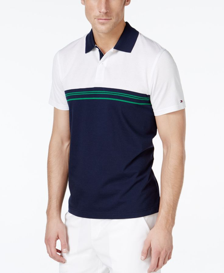 Tommy Hilfiger Delaford Colorblocked Polo