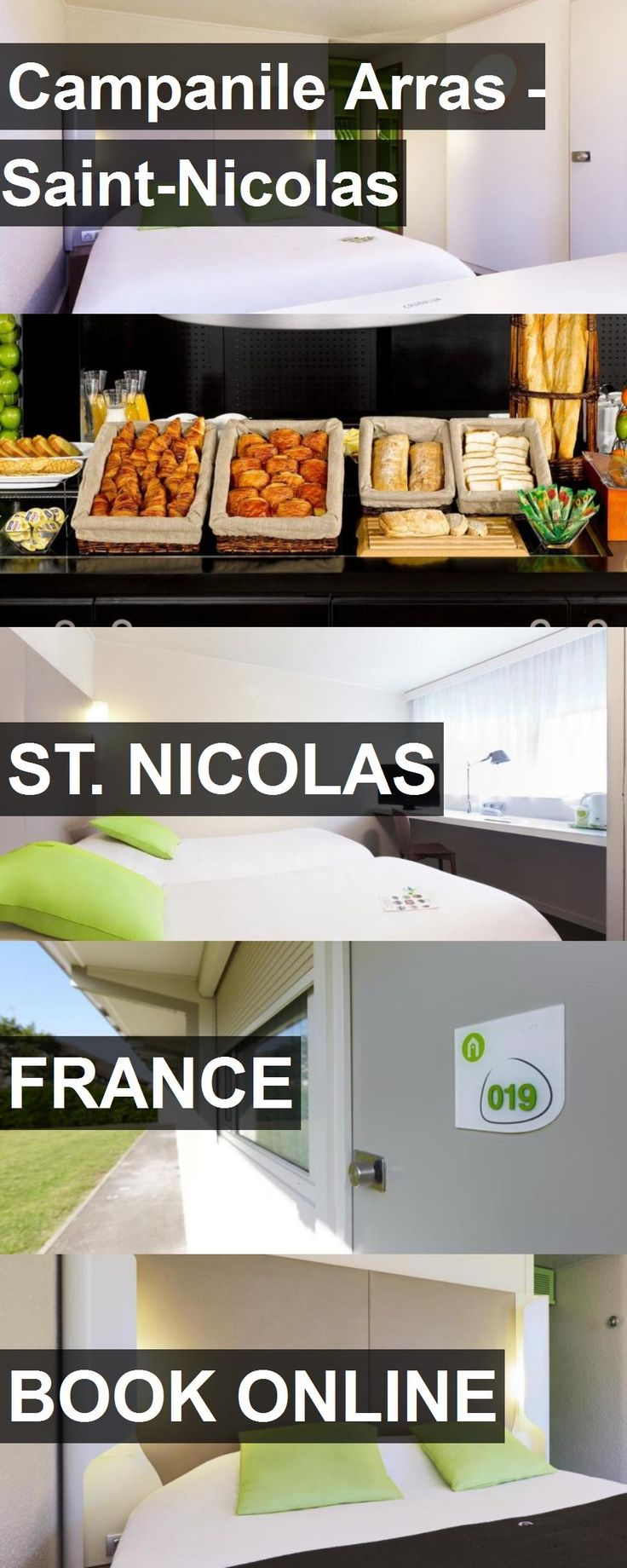 Hotel Campanile Arras - Saint-Nicolas in St. Nicolas, France. For more information, photos, reviews and best prices please follow the link. #France #St.Nicolas #travel #vacation #hotel
