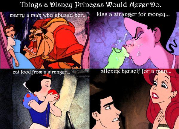 Can disney princess funny