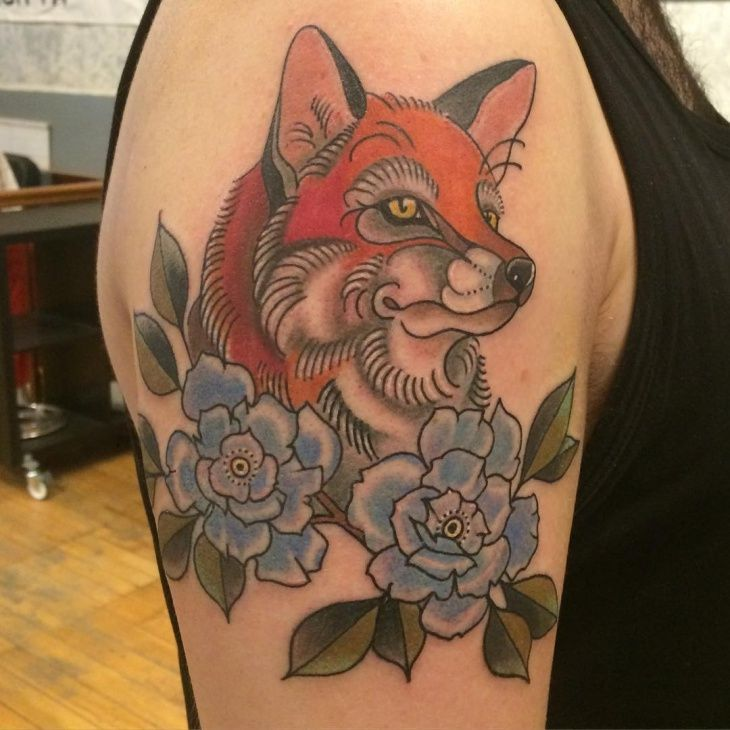 Best ideas about Fox Tattoos on Pinterest | Fox drawing Coyote tattoo ...