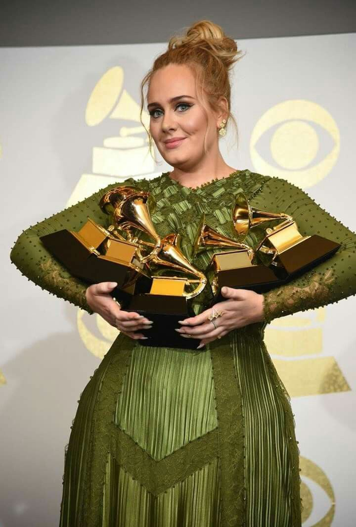 Well Deserved. Definitely the Artist of the Year. Adele