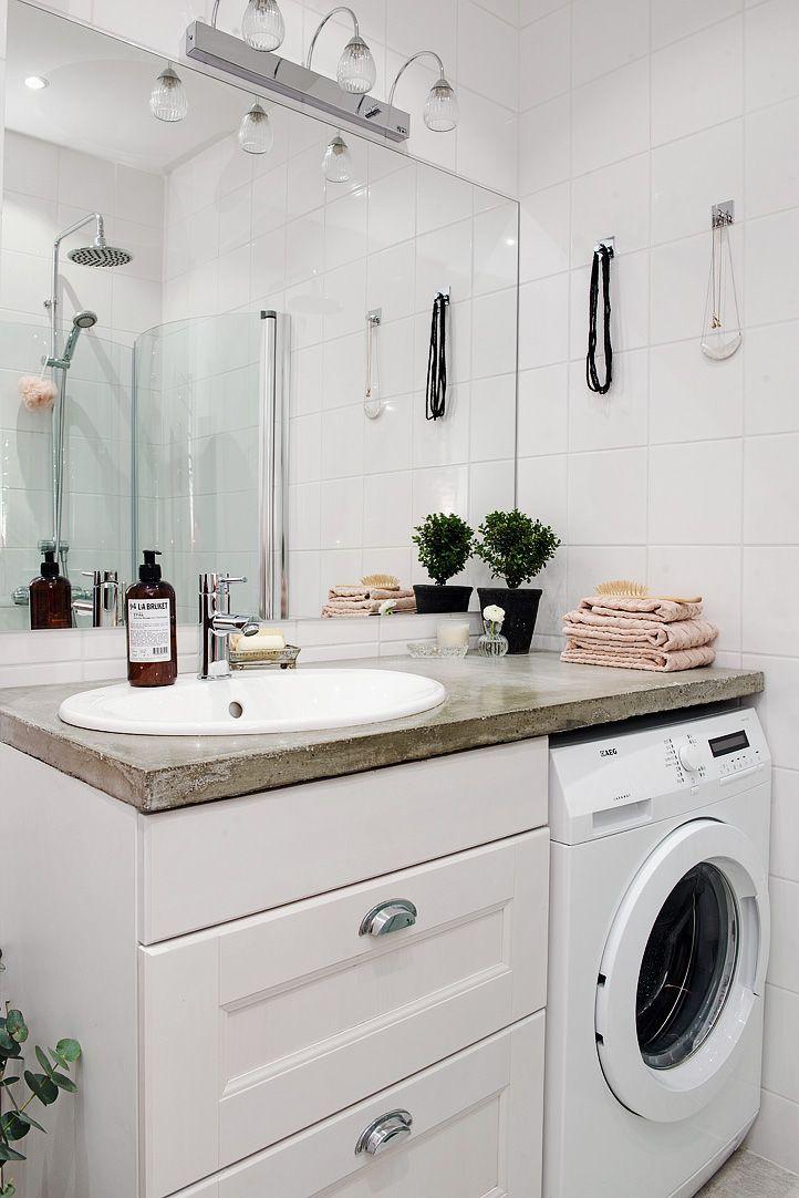 bygga in tvättmaskin Sök på Google Fina badrum Pinterest