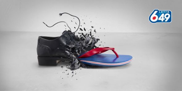 Lotto 649: Shoe   Ads of the World™