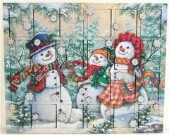 Image result for traditional advent calendar opened
