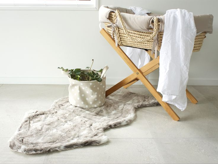 Lynx Faux Fur Rug NZ $55, perfect addition to your little ones room as a play-mat or just to soften the decor!