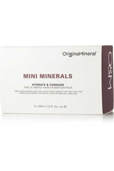 Original & Mineral - Mini Minerals Hydrate & Conquer The Ultimate Hair Hydration Pack, 5 X 50ml - one size