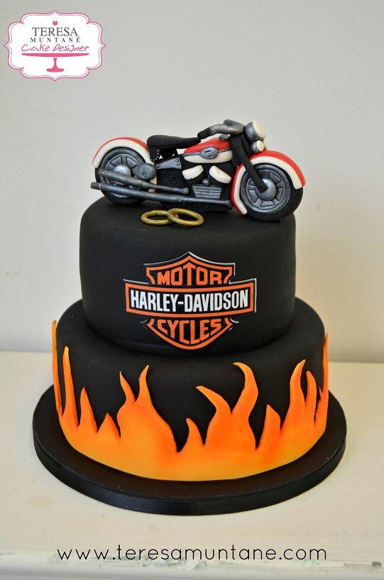M s de 1000 ideas sobre tortas de cumplea os de moto en pinterest fiesta de motocicleta for Motorbike template for cake