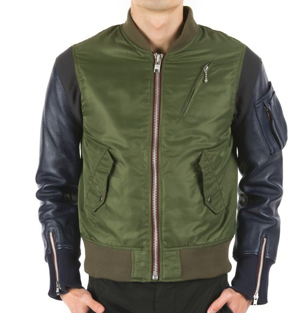 99% Is – Olive Green Bomber