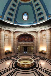 Rotunda 2nd Level - Manitoba Legislative Building