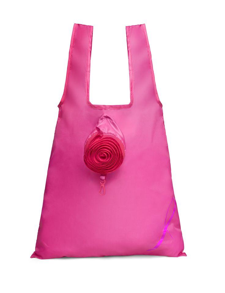Shopping Bag Breast Cancer Awareness Necklace, 20 lei. Profits from the sale of this bag will be donated to the Avon Breast Cancer Crusade. Geantă de cumpărături, 20 lei https://www.avon.ro/539-606/produse-campanii-sociale/campania-impotriva-cancerului-la-san/