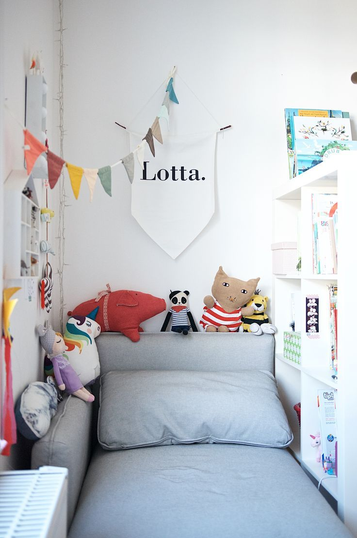 A colorful nursery with corners for all children's needs
