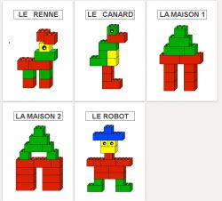 Montage lego maternelle