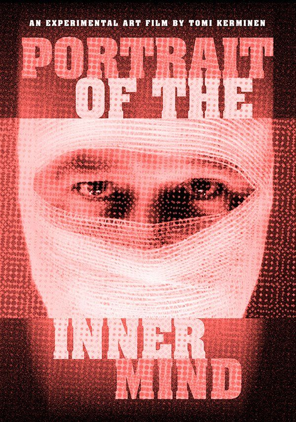 Portrait Of The Inner Mind. Poster Plan.