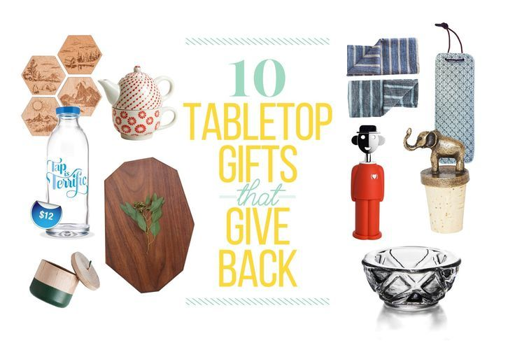 10 Tabletop gifts that give back // Fair Trade Kitchen // Ten Thousand Villages