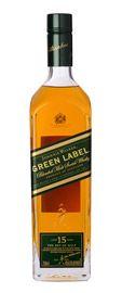 Johnnie Walker Green Label 15 year old Blended Malt Whisky 750ml