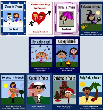 This is a bundle of 10 French Booklets to help your students learn French.