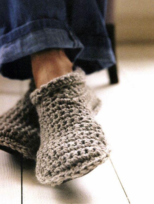 Robust Slipper Boots Crochet Pattern (FREE) - http://pinterest.com/Allcrochet