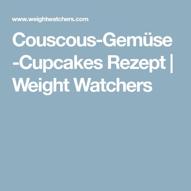 Couscous-Gemüse-Cupcakes Rezept | Weight Watchers