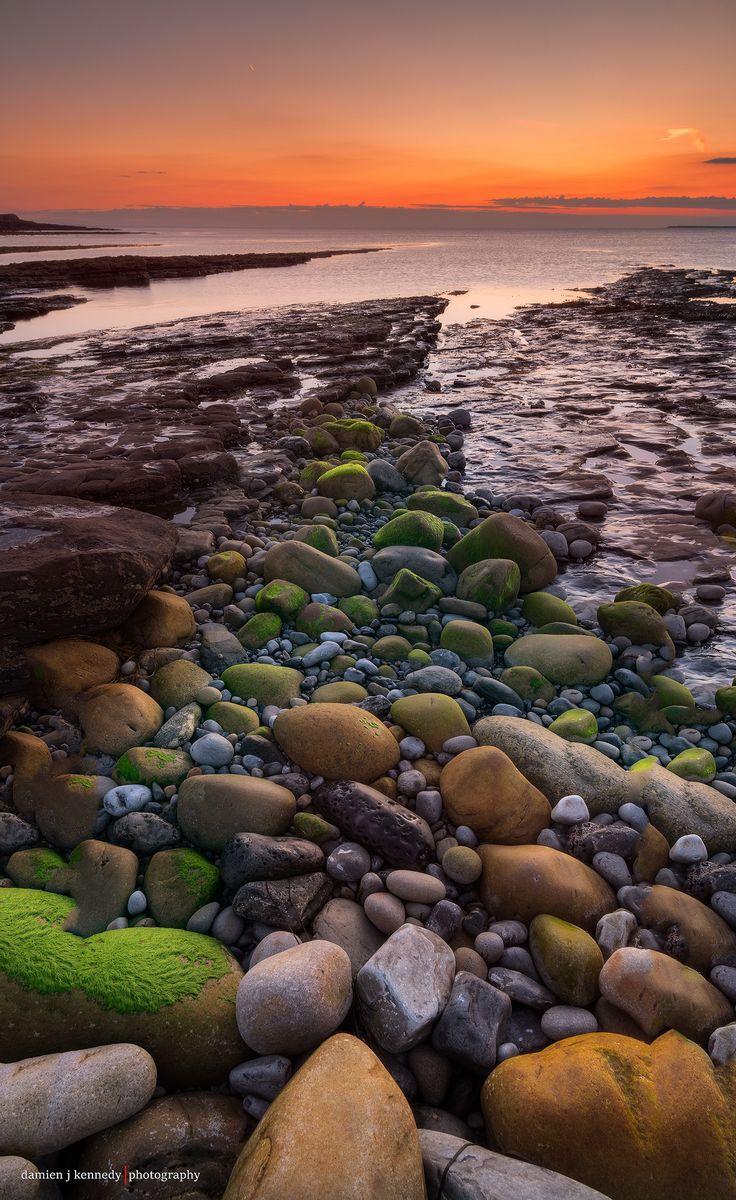 Rocky Shore,  Staid Beach  -