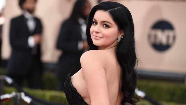 Ariel Winter 'not ashamed' to show her...: Ariel Winter 'not ashamed' to show her breast-reduction scars on SAG red carpet… #ArielWinter