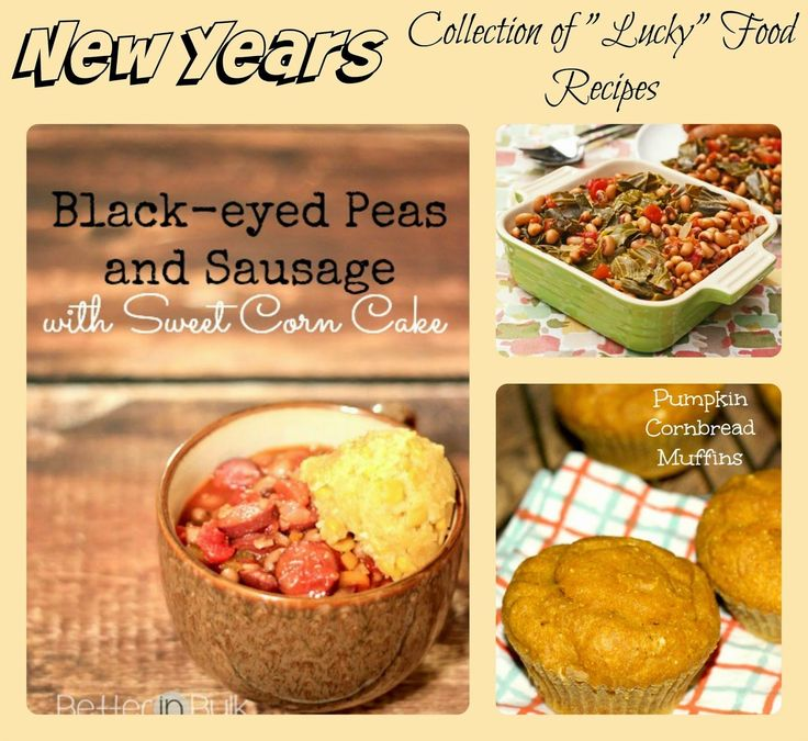 New Years Day Recipes A Collection of Lucky New Year Food