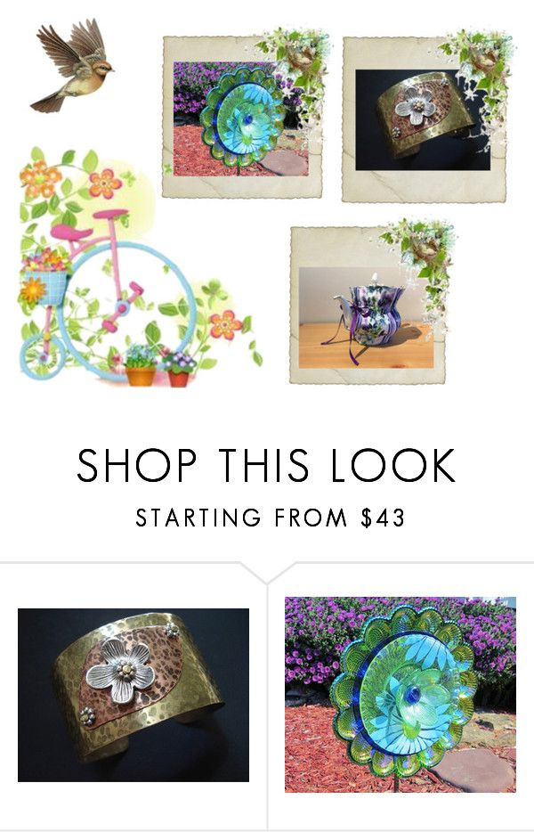 Floral Delights by cozeequilts on Polyvore