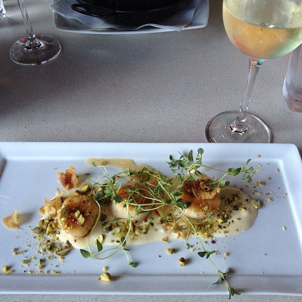 Scallops on a sunny summer day in Oslo.