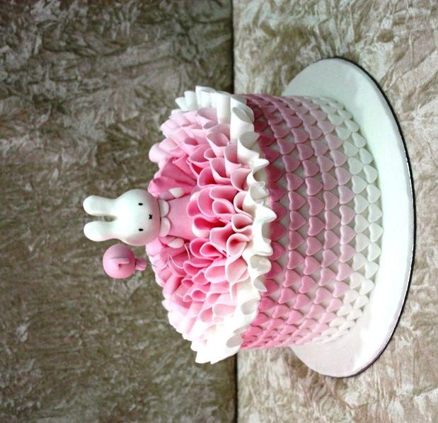 Birthday Cake with Bunny