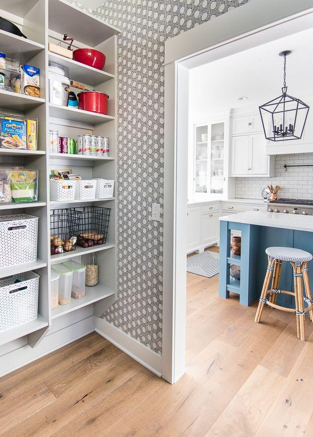 Butler S Pantry Wallpaper Pantry Wallpaper Kitchen Pantry Design Pantry Design