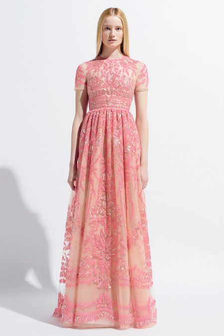 gorgeous pink dress. Valentino Resort 2014