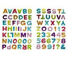 Recollections™ Alphabet Stickers, Kingpin Font